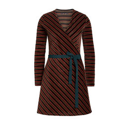 King Louie Wrap Dress Nikki Stripe