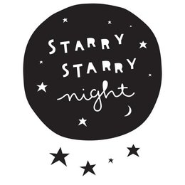 A Little Lovely Company Wall Sticker Starry Night