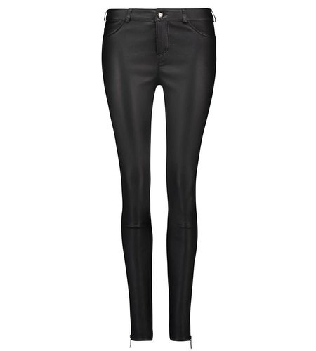 Arma Leder Chrissie Stretch Plonge Black