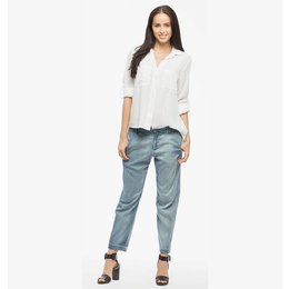 Bella Dahl Blouse Split Back Button Down