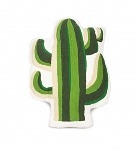 Kitsch Kitchen Kussen Cactus Groen