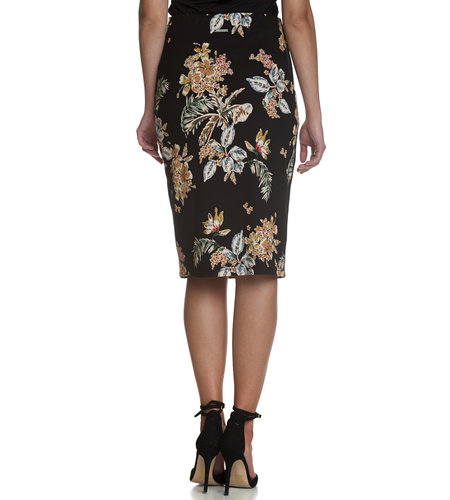 Vive Maria Honululu Beach Skirt Black/Allover