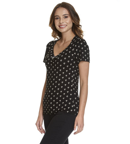 Vive Maria Petite Marguerite Shirt Black/Allover
