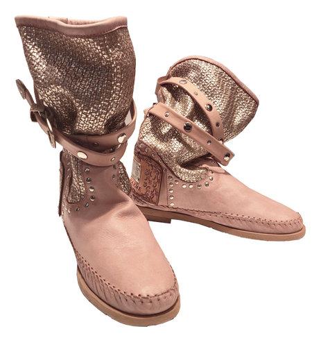 Karma of Charme Tricot2 Vintage Stivali Donna Confetto