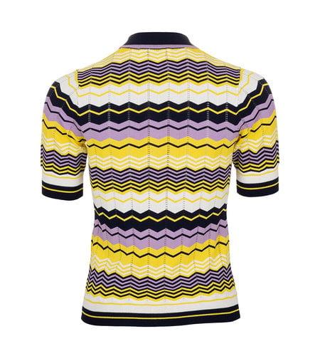 Le Pep Cato Top Yellow Stripe