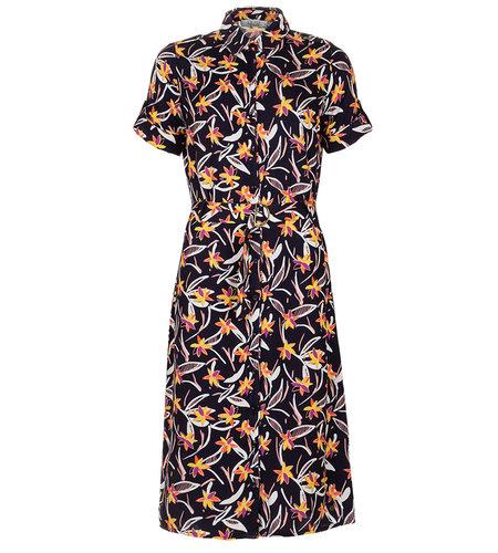 Le Pep Camden Dress Navy Flower