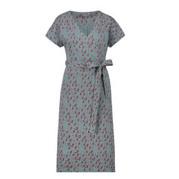 IEZ! Dress Wrap Face Jersey Print