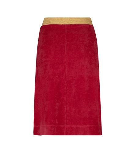 IEZ! Skirt Velvet Red