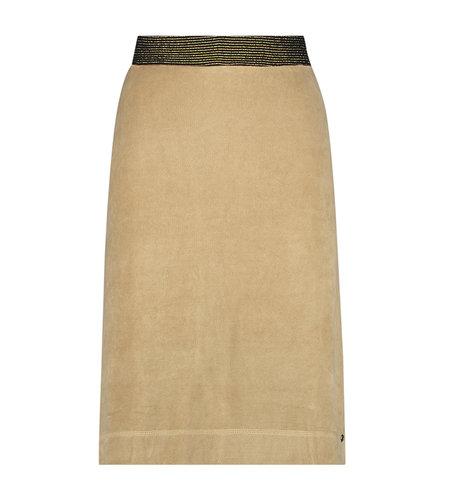 IEZ! Skirt Velvet Camel