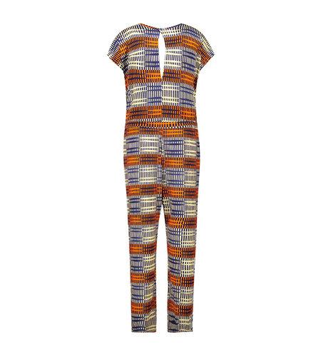IEZ! Suit Jersey Print Stripe Blue Red White