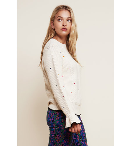 Fabienne Chapot Paola Pullover Off White