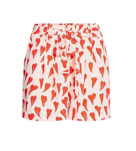 Fabienne Chapot Susan Noa Short Off White Cool Coral