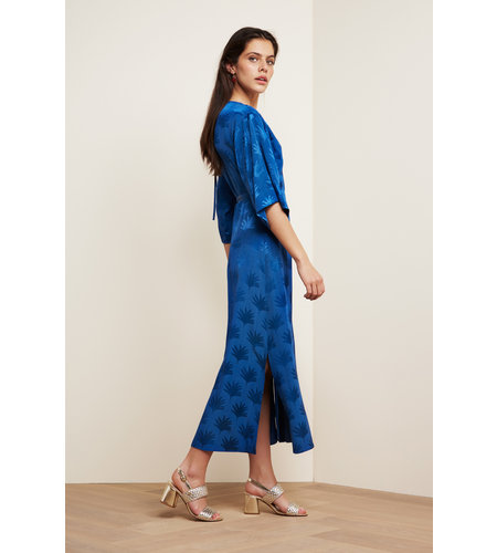 Fabienne Chapot Wendy Dress Fan Blue