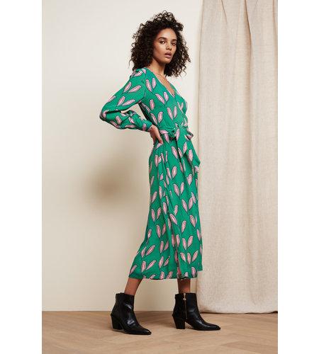 Fabienne Chapot Danira Dress Cactus Green Pink