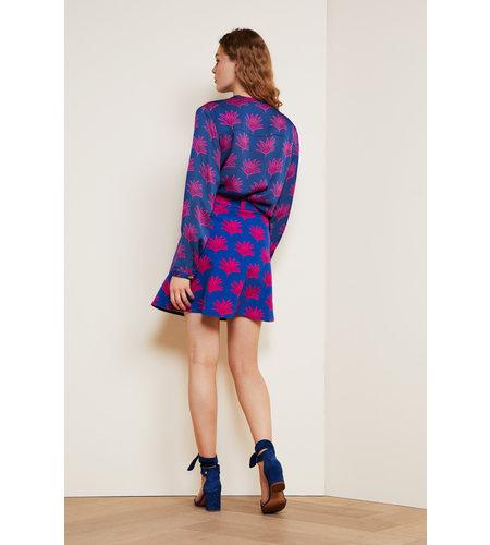 Fabienne Chapot Harry Skirt Fan Blue Pinata Pink