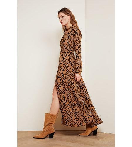 Fabienne Chapot Laura Dress Toffee Brown Black
