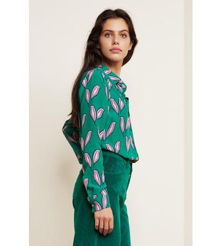 Fabienne Chapot Lily Noa Blouse Cactus Green Pink