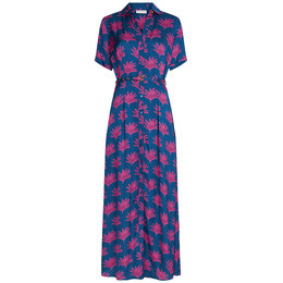 Fabienne Chapot Fabienne Chapot Mia Dress Fan Blue Pinata Pink