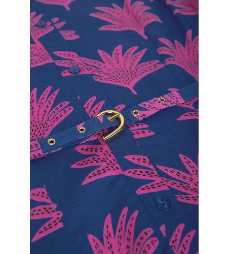 Fabienne Chapot Mia Dress Fan Blue Pinata Pink