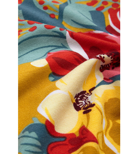 King Louie Anna Dress Maxi Lavish Spice Yellow