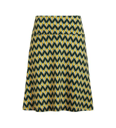 King Louie Border Skirt Namastee Spar Green