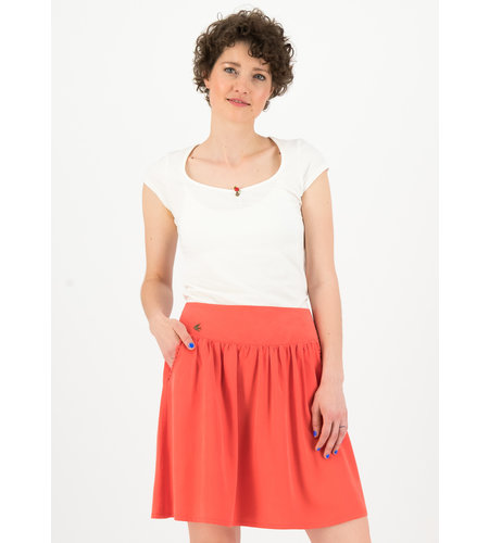 Blutsgeschwister Logo Woven Skirt Dusty Red