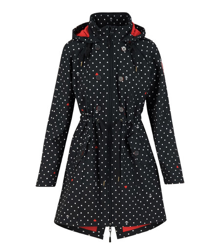 Blutsgeschwister Swallow Tail Promenade Coat Casual Anchor