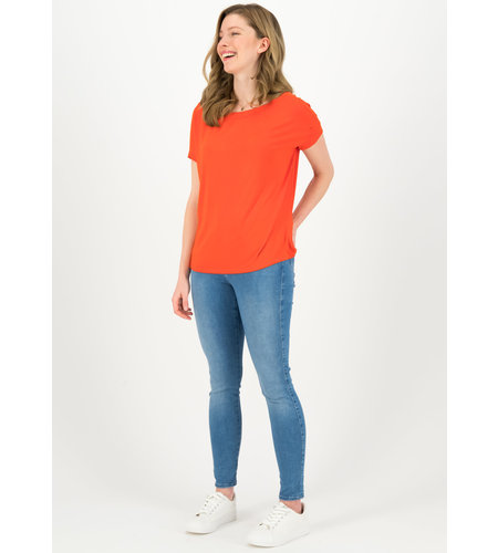 Blutsgeschwister Flowergirl Tee Color Orange Summer