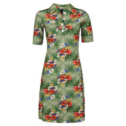 Tante Betsy Dress Kyra Poppy Green