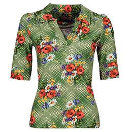 Tante Betsy Shirt Nellie Poppy Green