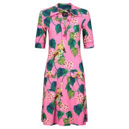 Tante Betsy Dress Polly Botanical Bird Pink