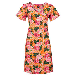 Tante Betsy Dress Lila Savon Rose Orange