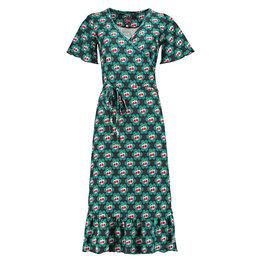 Tante Betsy Hippie Dress Cherrie in Blossom Black