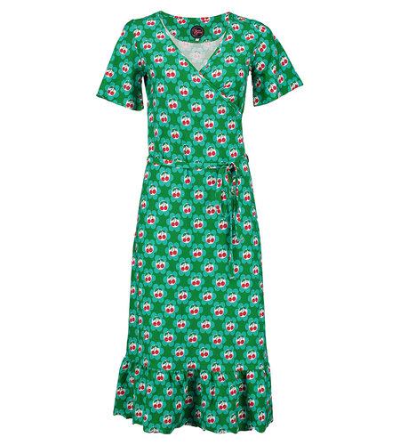 Tante Betsy Hippie Dress Cherrie in Blossom Green