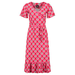 Tante Betsy Hippie Dress Cherrie in Blossom Red
