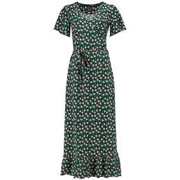 Tante Betsy Hippie Dress Long Edelweiss Black