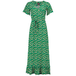Tante Betsy Hippie Dress Long Edelweiss Green
