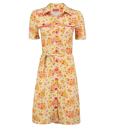 Tante Betsy Dress Betsy Fleurie Yellow