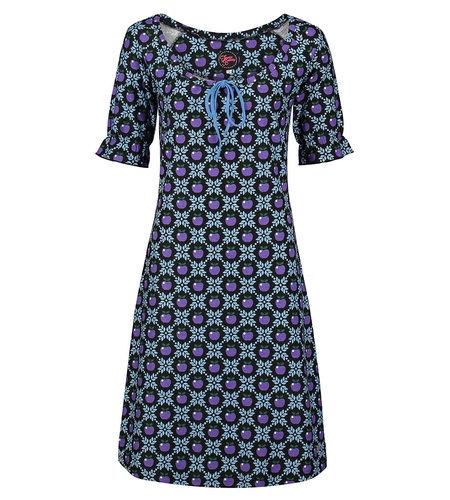 Tante Betsy Dress Maria Apple Grain Black