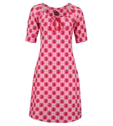 Tante Betsy Dress Maria Apple Grain Pink