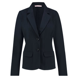 Studio Anneloes Bright Bonded Blazer Dark Blue