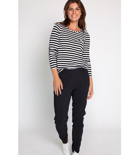 Studio Anneloes Flo Bonded Trousers Black