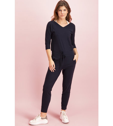 Studio Anneloes Startup Trousers Dark Blue
