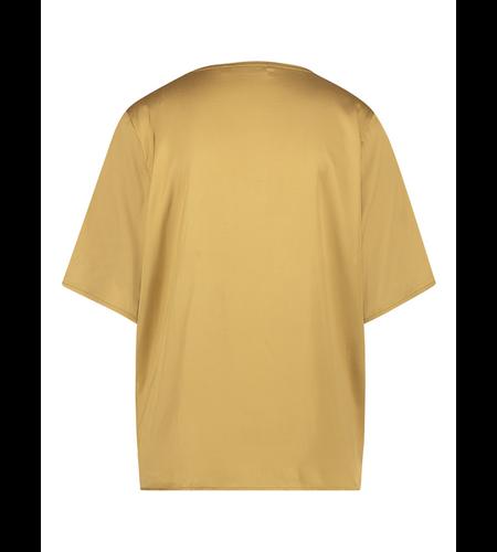 Studio Anneloes Elsa Satin T-Shirt Gold