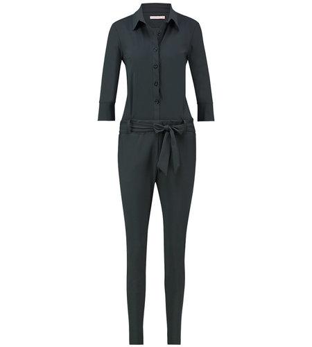 Studio Anneloes Angelique Jumpsuit 3/4 with cuff Dark Grey