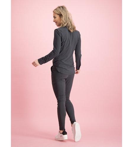 Studio Anneloes New Franka Trousers Dark Grey