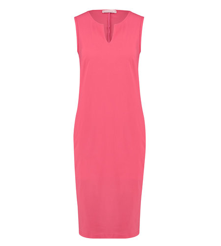 Studio Anneloes Simplicity Sleeveless Dress Raspberry