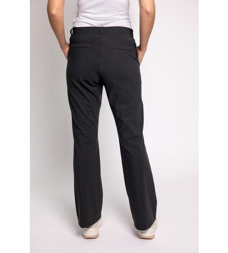 Studio Anneloes Flair Bonded Trousers Dark Grey