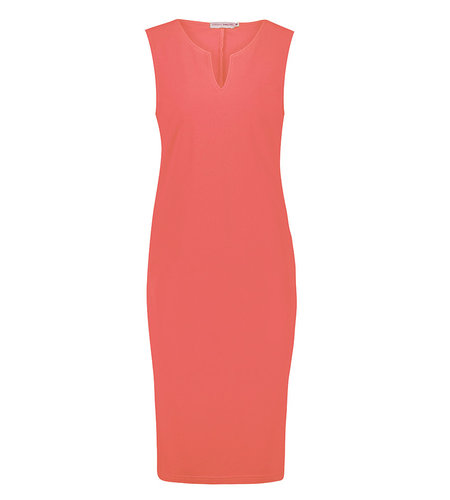 Studio Anneloes Simplicity Sleeveless Dress Coral