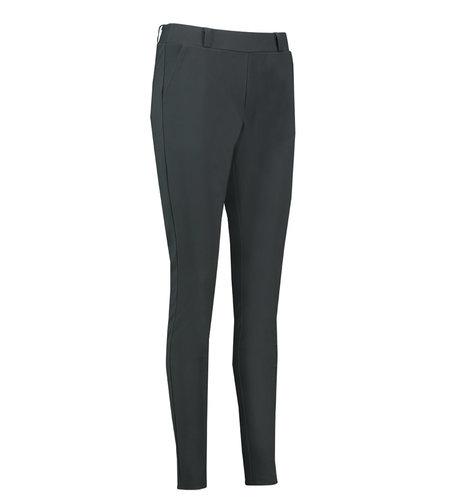 Studio Anneloes Flo Bonded Trousers Dark Grey